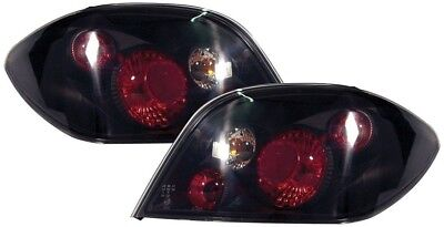 PEUGEOT 307 HATCHBACK REAR LEXUS TAIL LIGHTS - BLACK