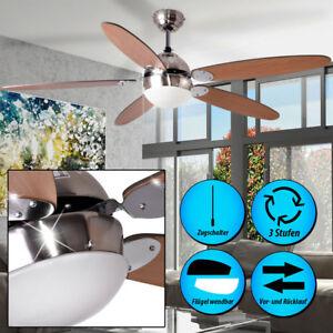 decken ventilator beleuchtung zugschalter ventilator lampe leuchte wohn zimmer ebay. Black Bedroom Furniture Sets. Home Design Ideas