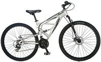 & Sealed Mongoose Impasse 21 Speed Dual Full Suspension Bicycle (29-inch)