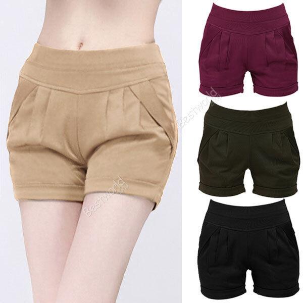 Fashion New Women Ladies Casual High Waist Harem Hot Short Pants Shorts
