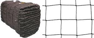 Freilauf-Volierennetz-25-00-m-x-35-00-m-Masche-10-cm-schwarz-Huehnerauslauf