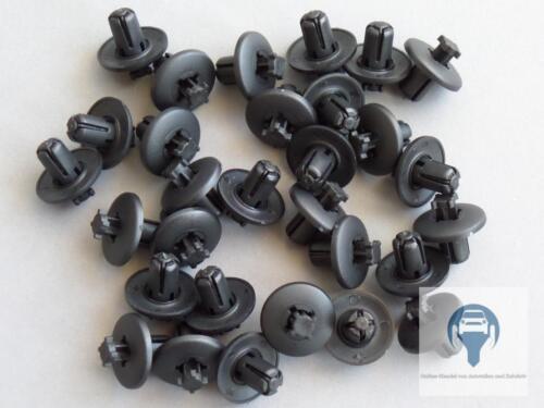 15x paso de rueda clips de fijación para peugeot 206 307 406 607 807 Citroën c3 c4 c5