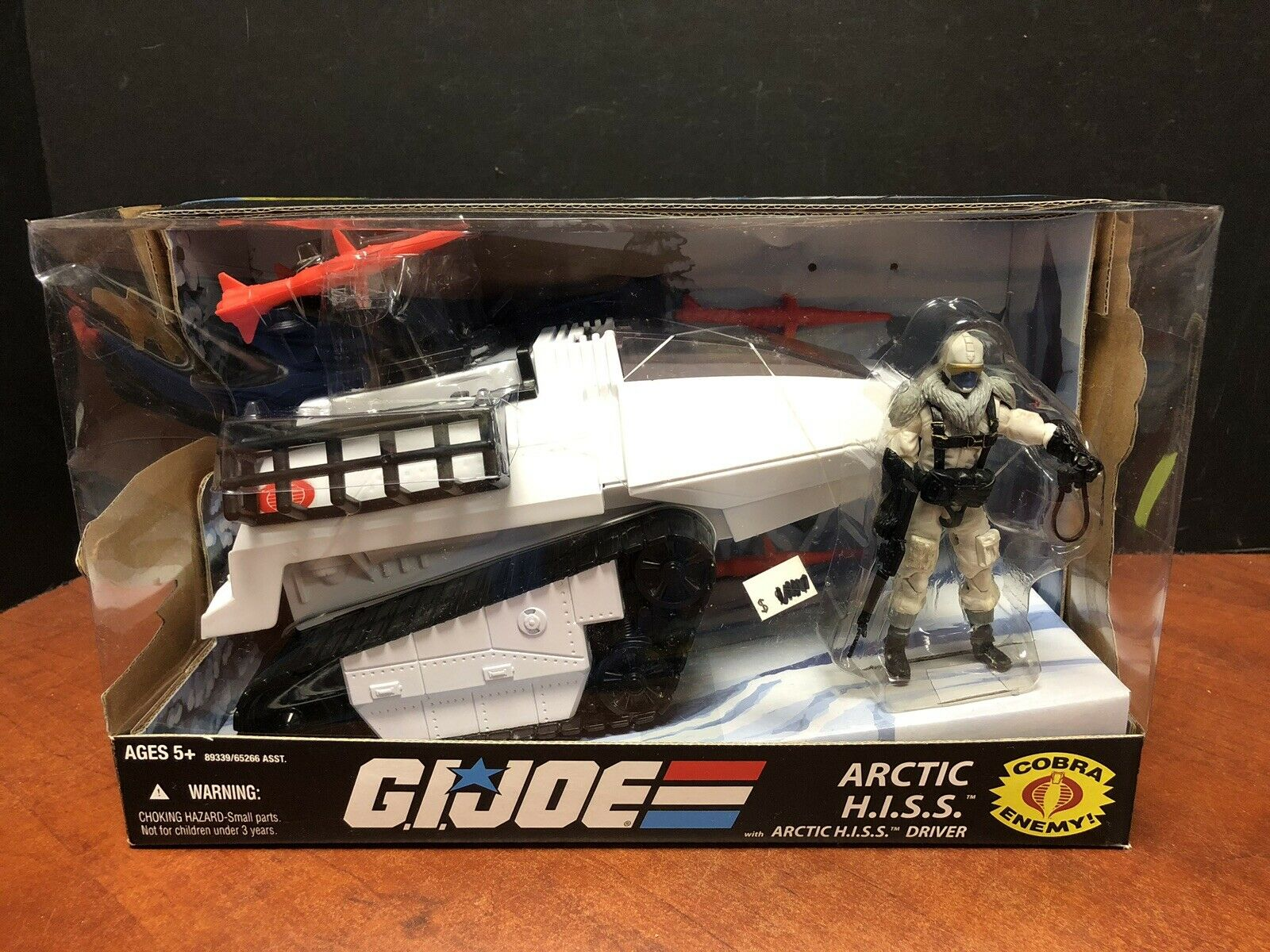GI Joe 2008 Arctic HISS With Driver Dela0434