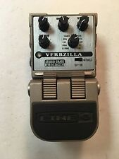 Line 6 Tone Core Verbzilla Stereo Digital Reverb Rare Guitar Effect Pedal