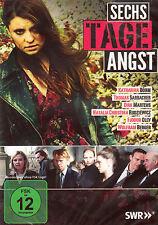 DVD NEU/OVP - Sechs Tage Angst - Katharina Böhm, Thomas Sarbacher & Dirk Martens