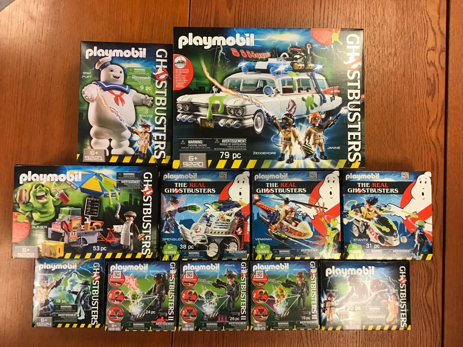 Lot   playmobil  ghostbusters ghostbusters  vente discount