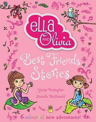 NEW Ella and Olivia Treasury By Yvette Poshoglian Hardcover Free Shipping