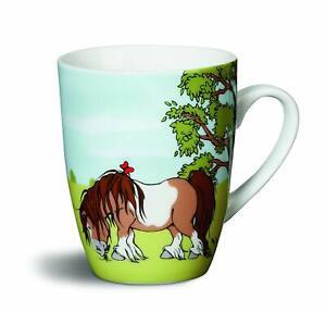 Katzen Porzellan 4  Kaffeetassen Kaffeebecher Kindertasse Teetasse mit Dackel u
