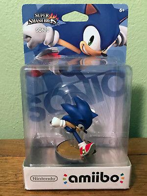 Sonic The Hedgehog Amiibo For Super Smash Bros Nintendo Wii U 3ds Ebay