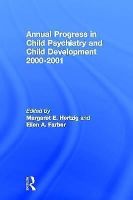 Annual Progress in Child Psychiatry and Child Development 2000-2001 (Hardback bo