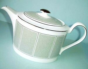 Wedgwood-Shagreen-Jade-Teapot-Tea-Pot-Made-in-UK-New