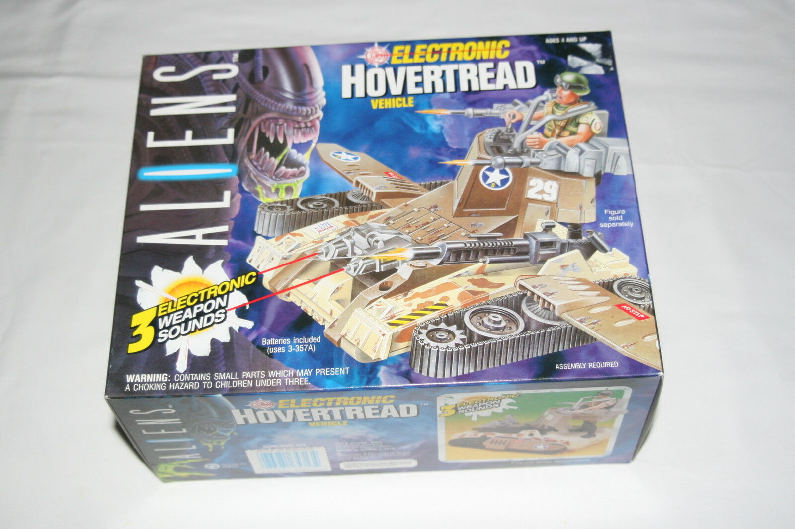 1992 Kenner Toys Aliens Space Marine Electronic Hogreenread Vehicle