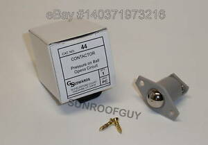 Gs Edwards 44 Roller Ball Contact Switch Door Jamb Low Voltage 782640212608 Ebay