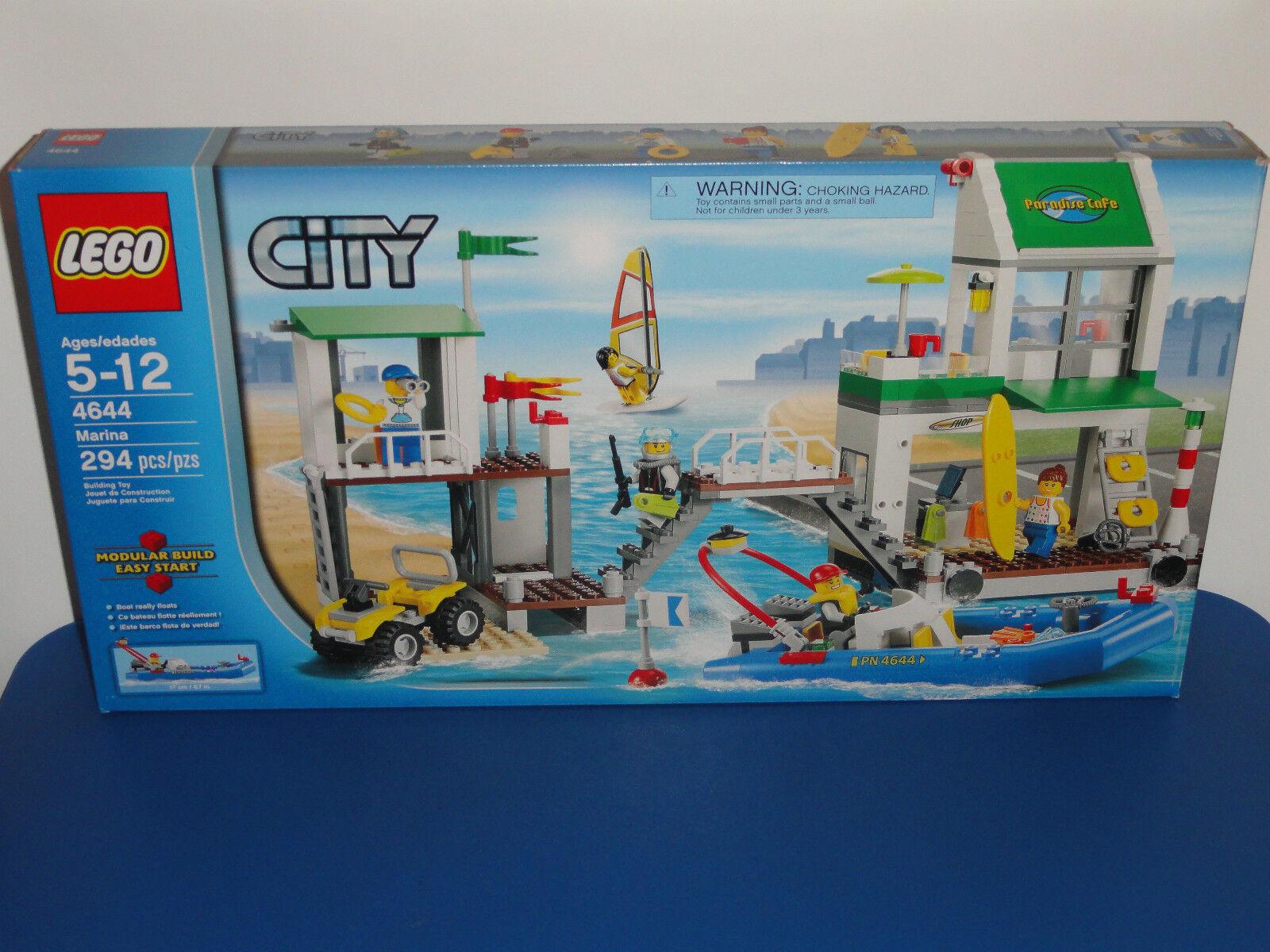 NEW LEGO City Marina 4644 Retirosso Factory Sealed Box Set