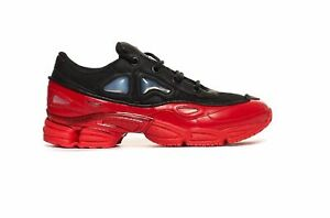 super popular e04a0 7d43d Details about Adidas x Raf Simons Ozweego III Black and Red DA8775