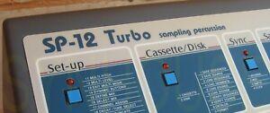 Sp-12 Turbo Remplacement Plastron Overlay Pour E-mu Sp12 Turbo-neuf!-afficher Le Titre D'origine Admtybnp-07174057-877078728