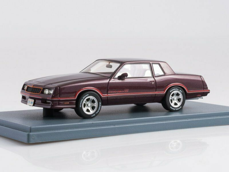 Collection scale model 1 43,  Chevrolet Monte voiturelo Ss rouge 1986  moins cher