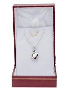 Pendentif-Coeur-avec-chaine-en-argent-massif-neuf-dans-un-ecrin-a-offrir-maman