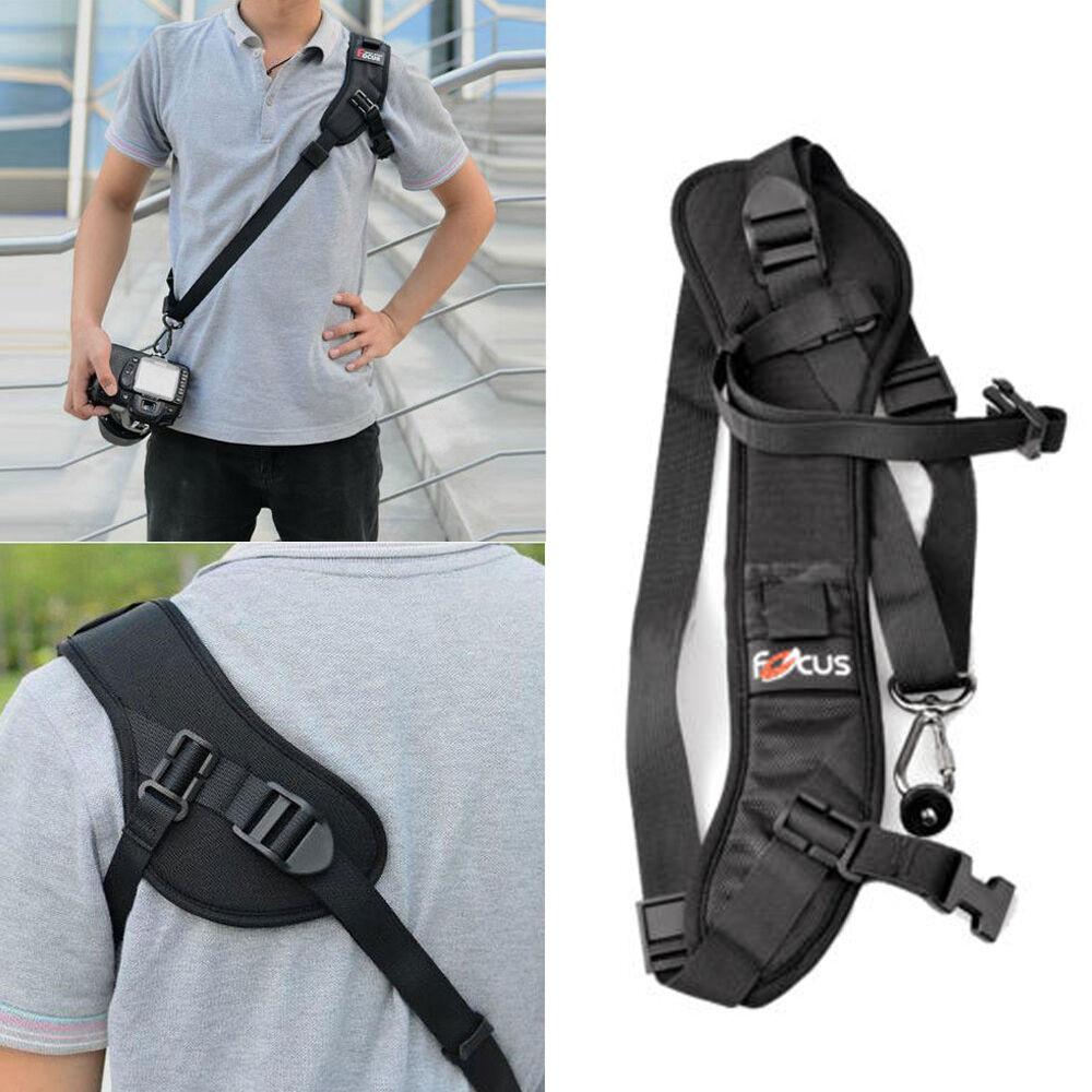 9402d283730 Focus F-1 Anti-Slip Quick Rapid Shoulder Sling Belt Neck Strap for ...