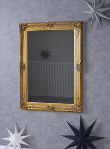 Barockspiegel Xxl Wandspiegel Garderobenspiegel Antik Badspiegel Barock Gold