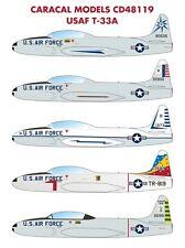 Caracal Models 1/48 USAF Lockheed T-33A Shooting Star # 48119