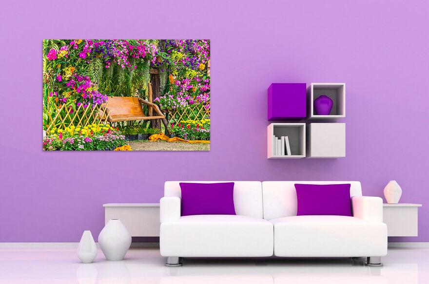 3D Garten bänke 523 Fototapeten Wandbild BildTapete AJSTORE DE Lemon