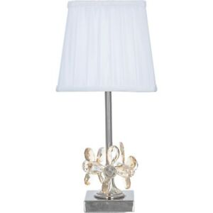 Elegant-Floral-Crystal-Bedside-Table-Lamp-with-Iceberg-White-Pleated-Shade-H45cm