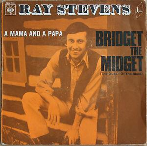 RAY-STEVENS-034-BRIDGET-THE-MIDGET-034-45-TOURS