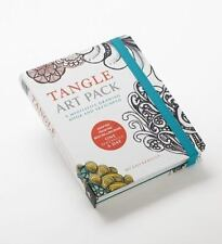 Tangle Art Pack: A Meditative Drawing Book and Sketchpad - Adapted from the Best
