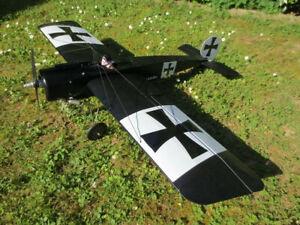 Bauplan-FOKKER-EIII-1-8-AirCombat