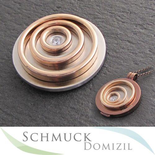 Quoins Scheibe Münze coin Moneda Gr L Edelstahl Rotgold QMB-01L-R