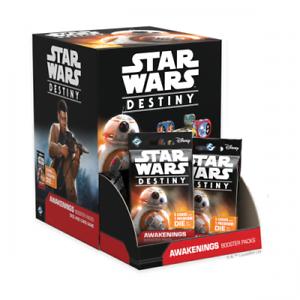 fantasi Fljus spel stjärnornas krig  Destiny - buekens  Booster låda (36 Boosters)