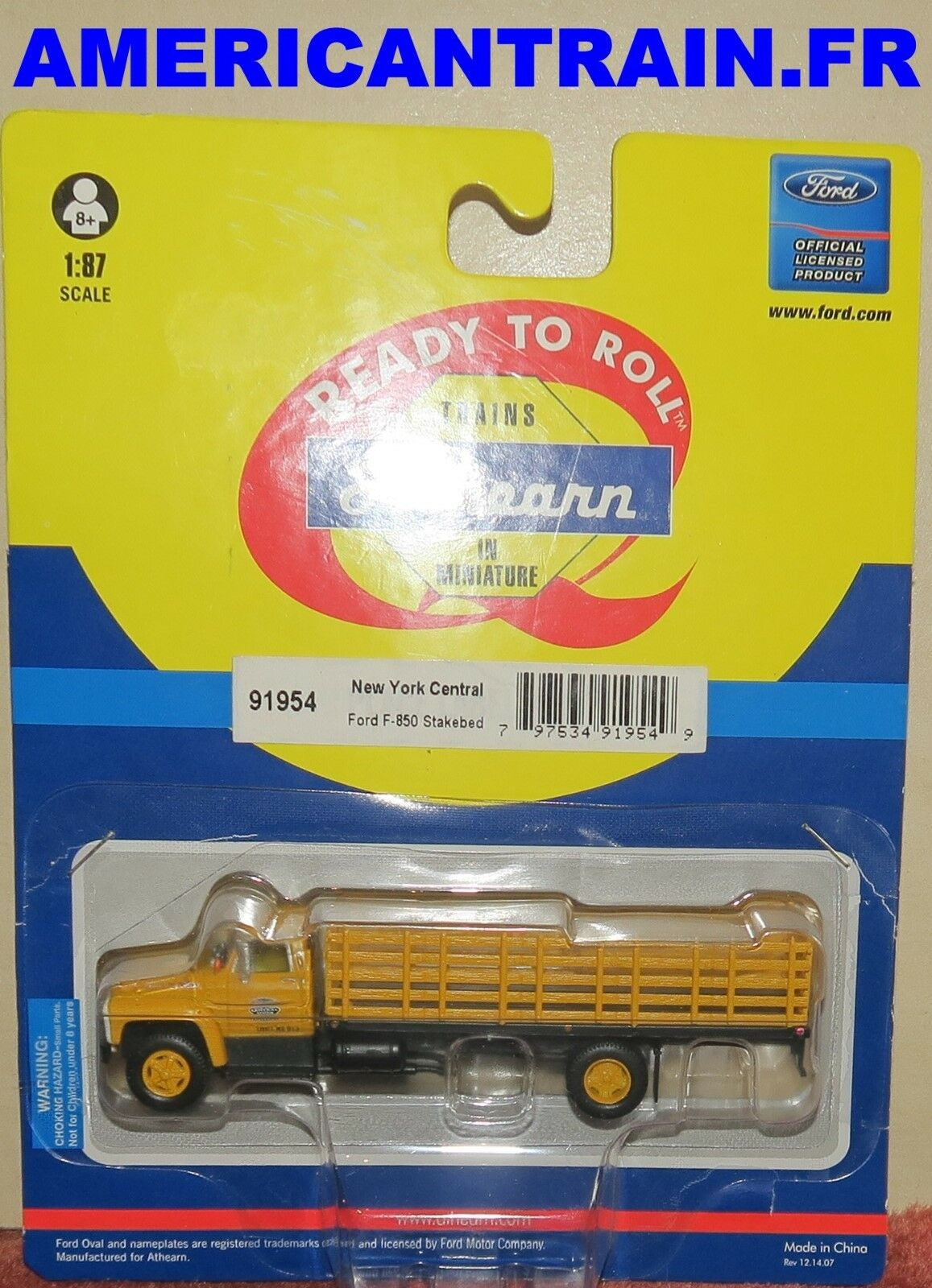 Camion Ford F-850 Stakebed Stakebed Stakebed HO 1 87 Athearn 21131f