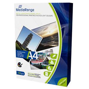 MediaRange-A4-CARTA-FOTOGRAFICA-PAT-OPACA-130g-100-fogli-MRINK101