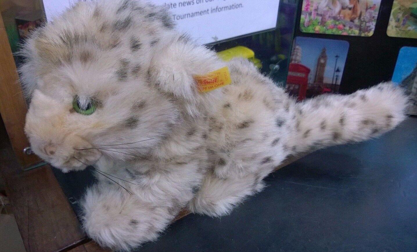 Steiff Vintage soft toy Molly Baby LION 102806 LOOSE SPEDIZIONE GRATUITA Regno Unito.