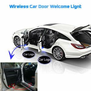 2-x-Wireless-Car-LED-Door-Welcome-Projector-Logo-Ghost-Shadow-Laser-light-UK
