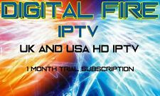 IPTV SUBSCRIPTION 1 MONTH TRIAL MAG 250 254 ANDROID SMART TV VOD HD DIGITAL FIRE