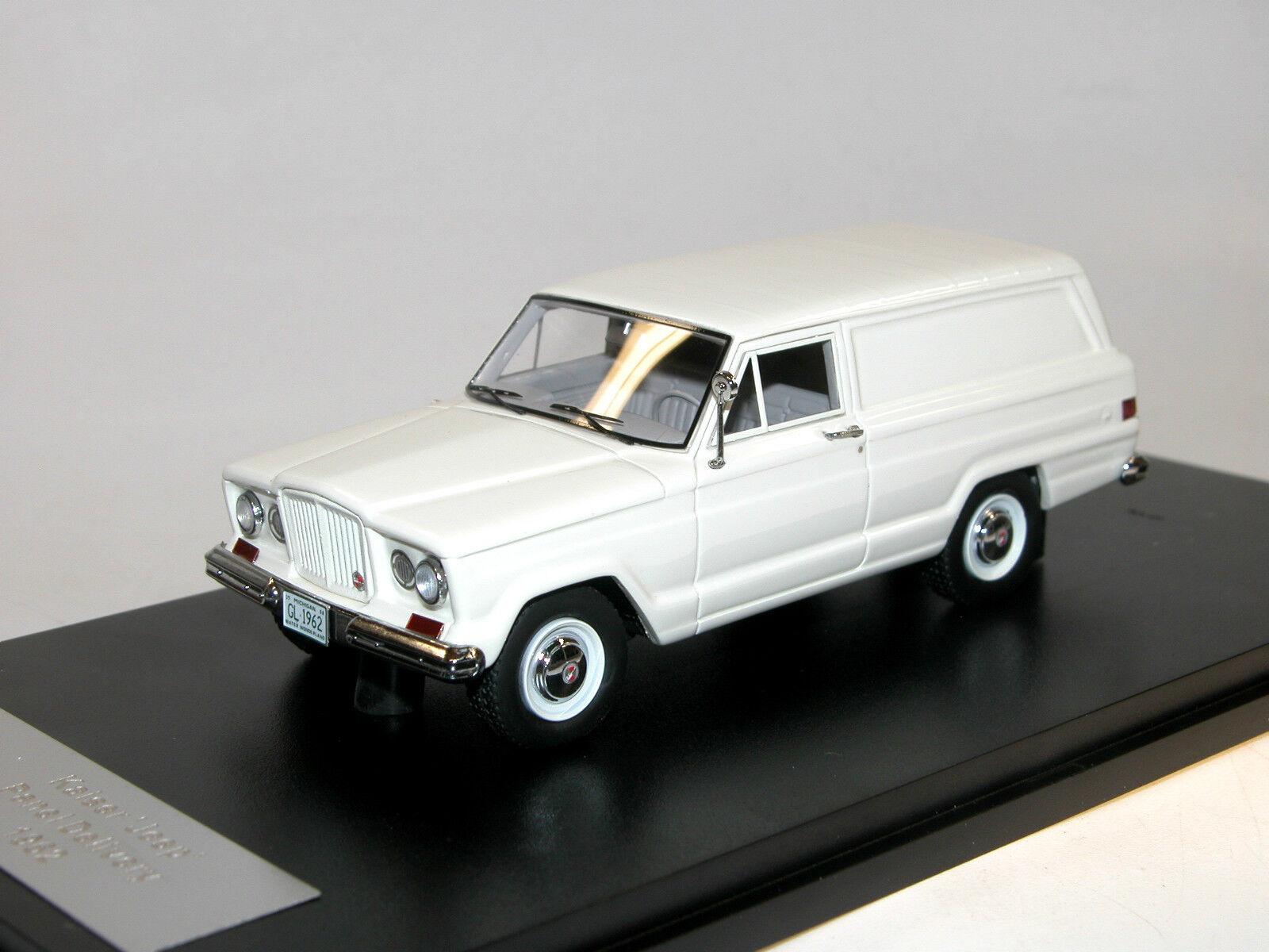 Great Lighting Models Models Models GLM 110101, 1962 Kaiser Jeep Panel Delivery Van, 1 43    Moderner Modus  44c1cd