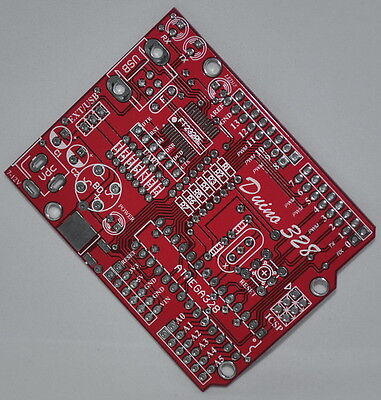 10 x PCB for Arduino Compatible [Duino 328]  for D.I.Y.
