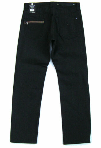 ROCAWEAR Mens Original Flame Stitch TAPERED Fit Denim Blue Jeans pic size color