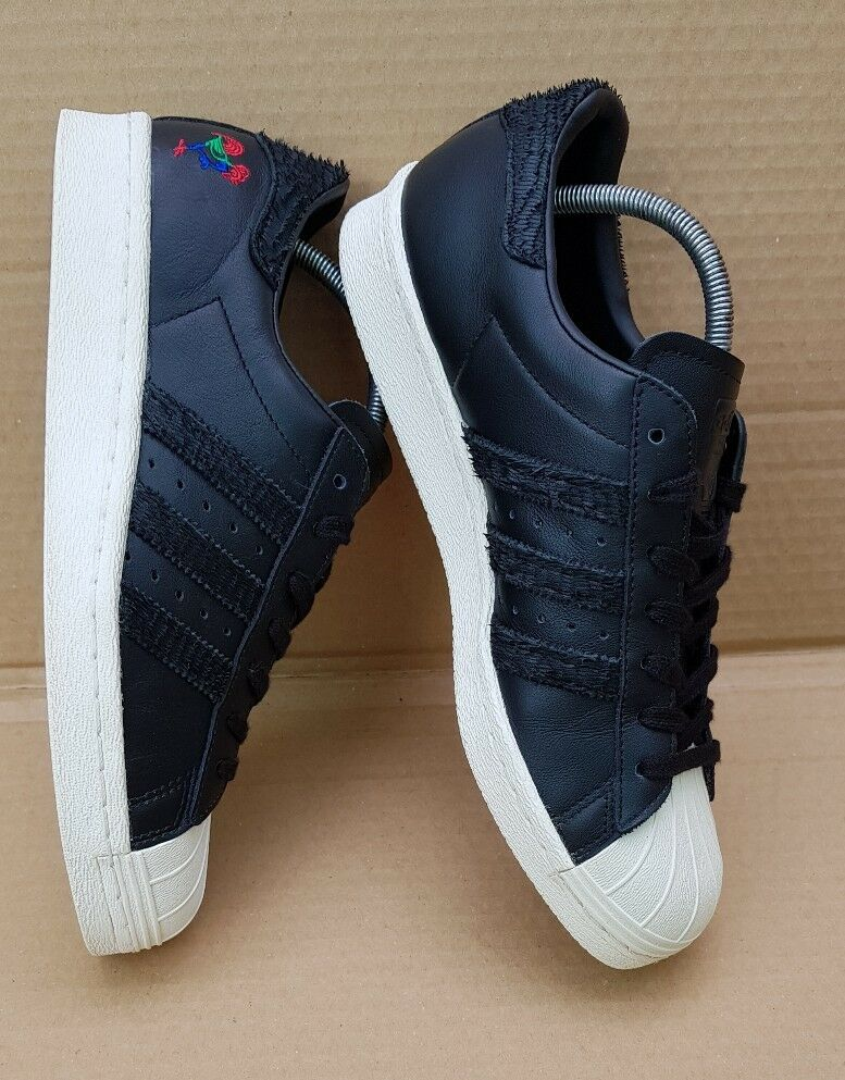 RARE ADIDAS SUPERSTAR CNY YEAR OF THE ROOSTER TRAINERS SIZE WORN 7.5 UK WORN SIZE ONCE  6e8fbd
