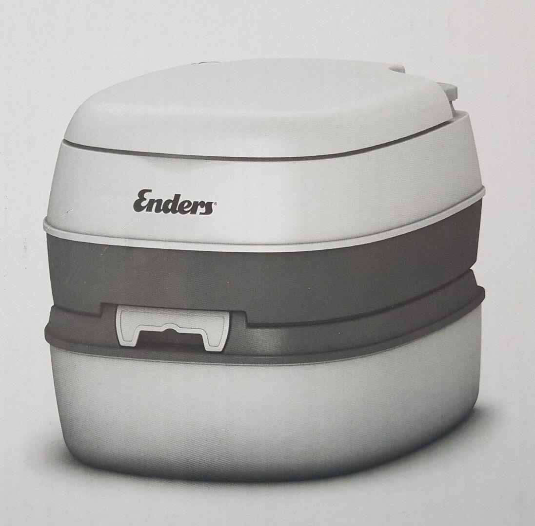 Enders Comfort Mobil WC + 1x 2,5l EnsanBlau Sanitärkonzentrat Neu Ovp