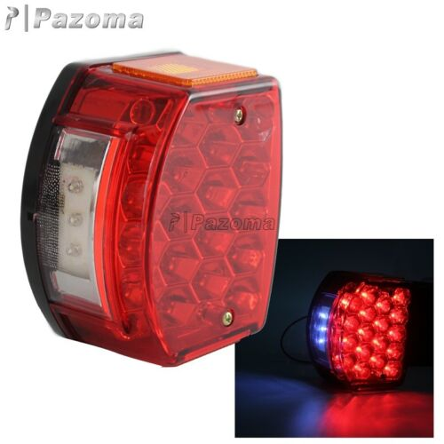 LED Taillight License Plate Light w//Reflector For Minsk 125cc Carpathians 50cc