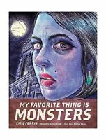 My Favorite Thing Is Monsters Free Shipping