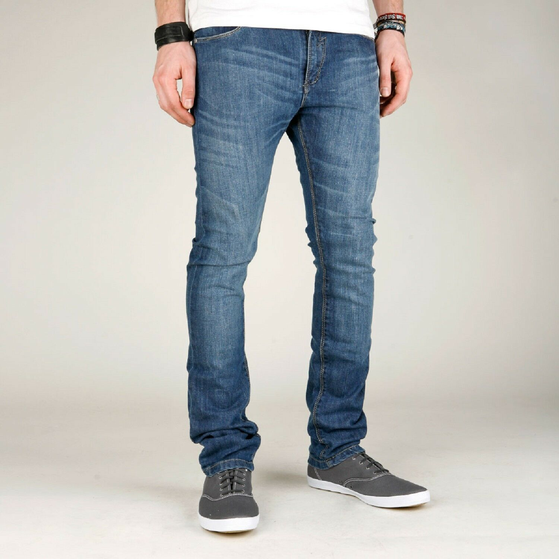 Reell Jeans Skin Pant mid bluee - NEU