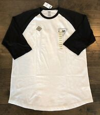 dd8c3cc6e5 item 1 VANS OTW (TRIANGULAR) RAGLAN 3 4 SLEEVE TEE T SHIRT WHITE BLACK SZ  MENS XXL 2XL -VANS OTW (TRIANGULAR) RAGLAN 3 4 SLEEVE TEE T SHIRT WHITE BLACK  SZ ...