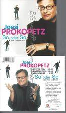 CD--PROKOPETZ,JOESI--SO ODER SO