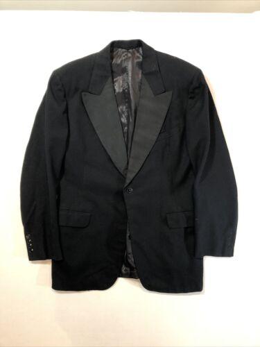 Vintage 30s NRA Tag Peak Lapel Tuxedo Jacket John