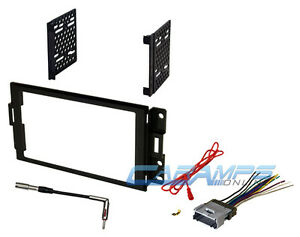 2004 2008 Grand Prix Car Stereo Double 2 Din Dash Install Kit With