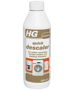 Details about HG Quick Descaler for Kettle Coffee Maker And Washing Machines 500ml